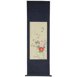Blossom and Butterflies Scroll (China)
