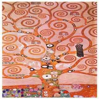 Works of Klimt 'Tree of Life' Canvas Wall Art