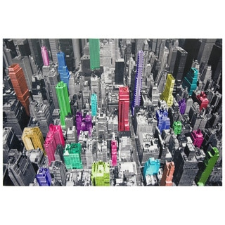 Colorful New York Canvas Wall Art