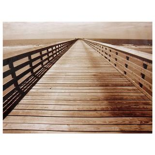 Ocean Walkway Canvas Wall Art