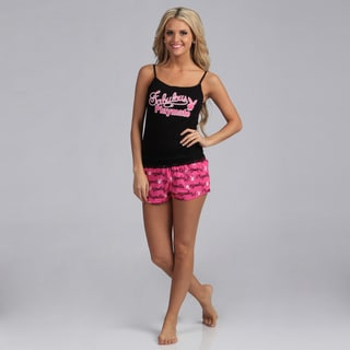 Playboy Intimates' Women's Cami and Shorts Sleepwear Set