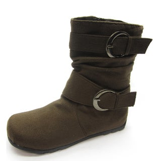 Blue Children's K-Katrina Buckle Boots