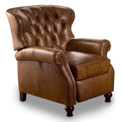 Cambridge Chaps Saddle Leather Recliner