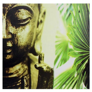 Golden Buddha Canvas Wall Art