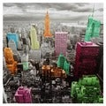 High-Lights of New York Skyline Canvas Wall Art