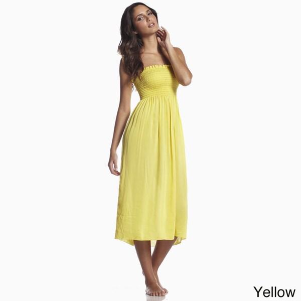 Elan Women's Smock Top Mid Length Dress