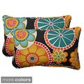 Pillow Perfect Outdoor Rondo Corded Rectangular Throw Pillow (Set of 2)