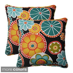 Pillow Perfect Outdoor Rondo Corded 18.5-inch Throw Pillow (Set of 2)