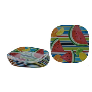 Certified International Fruit Splash 8.5-inch Plates (Set of 6)