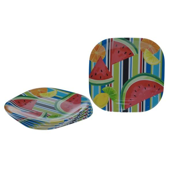 Certified International Fruit Splash 10.5-inch Plates (Set of 6)