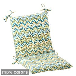 Pillow Perfect Outdoor Cosmo Chevron Squared Chair Cushion