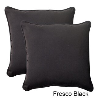 Pillow Perfect Outdoor Fresco Corded 18.5-inch Throw Pillow (Set of 2)