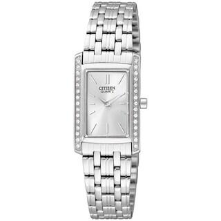 Citizen Women's Stainless Steel Silver Dial Watch