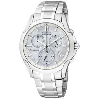 Citizen Women's Eco-Drive Stainless Steel Silver Dial Watch