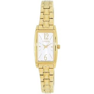 Citizen Women's Classic Goldtone/ Mother of Pearl Dial Watch