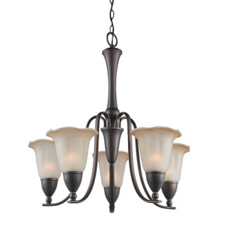 Woodbridge Lighting Kingston 5-light Metallic Bronze Chandelier