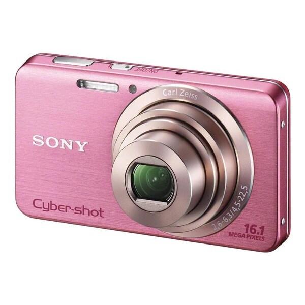 Sony Cyber-shot DSC-W630 16.1MP Pink Digital Camera