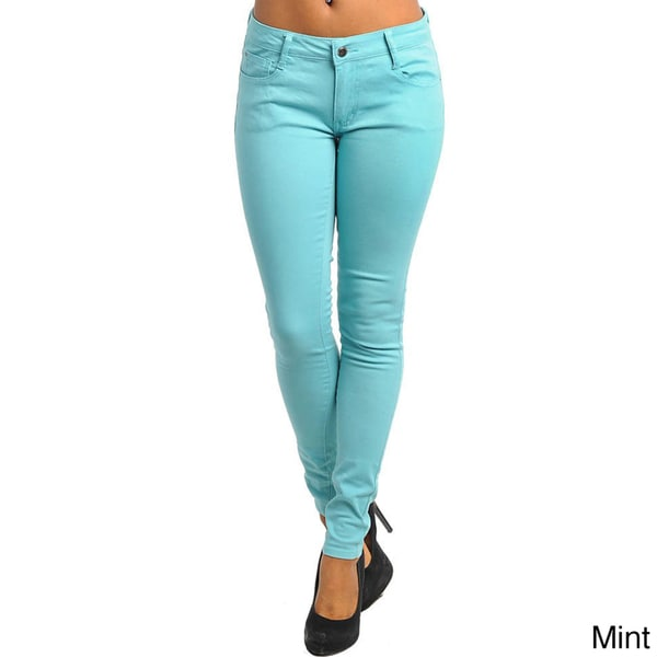 Stanzino Junior's Colored Skinny Pants