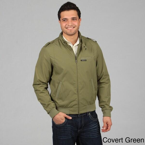Members Only Men's Iconic Racer Zip-Front Jacket