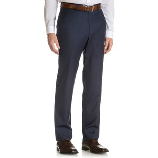 Tommy Hilfiger Men's Blue Shark Wool Suit Pant Separates