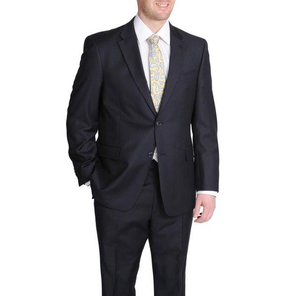 Tommy Hilfiger Navy Pinstripe Wool Suit Jacket Separate