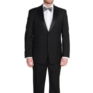 Tommy Hilfiger Men's Black Tuxedo Pant Separates