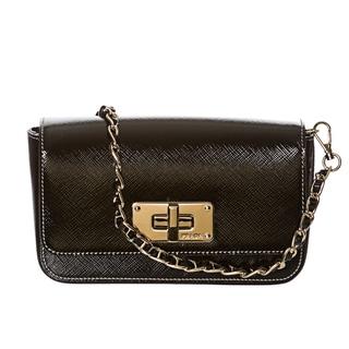 Prada 'Vernice' Saffiano Convertible Cross-body Bag