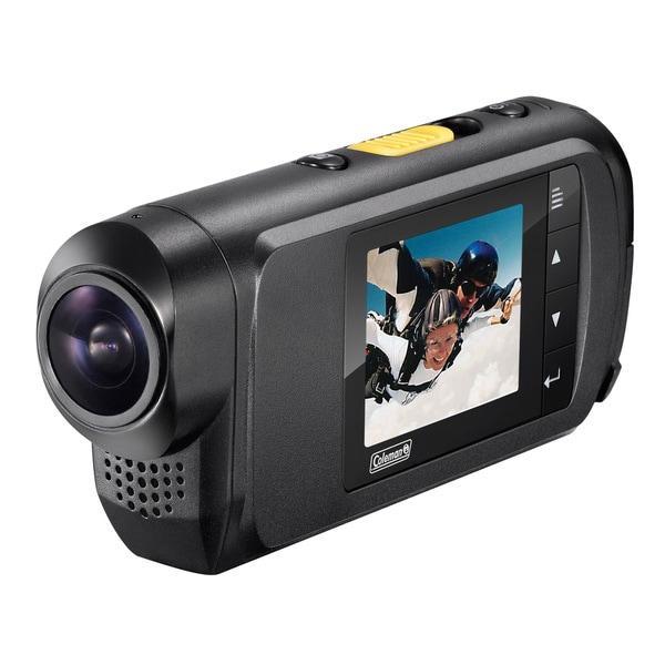 Coleman Conquest Full 1080i HD 60fps Helmet & Action Camera