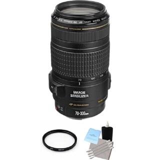 Canon EF 70-300mm f/4-5.6 IS USM Lens Bundle