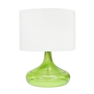 Integrity 16.5-inch Green Opal Glass Table Lamp