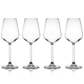 Fifth Avenue Crystal Napa 16.6 ounce Wine Goblets (Set 4)
