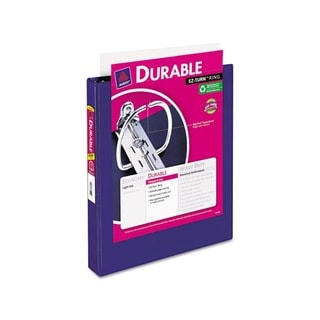 Avery Durable Blue Vinyl Slant D Ring View Binder