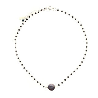 Sterling Silver 'Good Karma' Coin Necklace