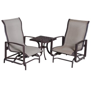 Spring Chair and End Table Club Set