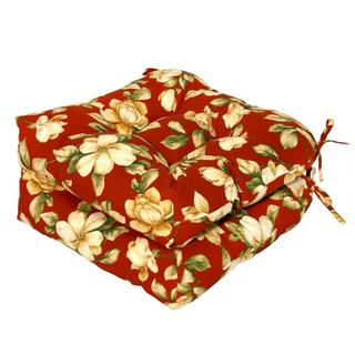 Palazzo Floral 20-inch Polyester Outdoor Chair Cushions (Set of 2)