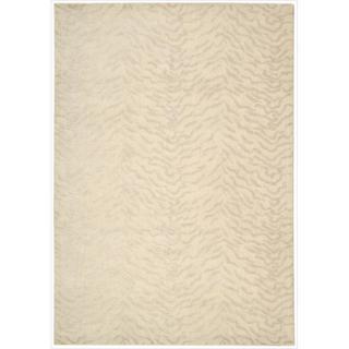 Kailash Animal Print Ivory Rug (5'3 x 7'5)