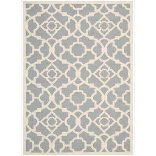 Waverly Sun and Shade Grey Rug (5'3 x 7'5)