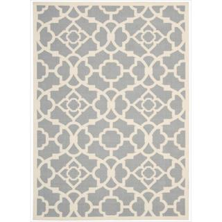 Waverly Sun N' Shade by Nourison Grey Indoor/Outdoor Rug (7'9 x 10'10)