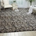 Kailash All Over Branch Onyx Rug (7&#39;9 x 10&#39;10)