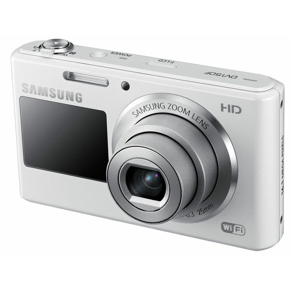 Samsung DV150F 16.2MP White Digital Camera