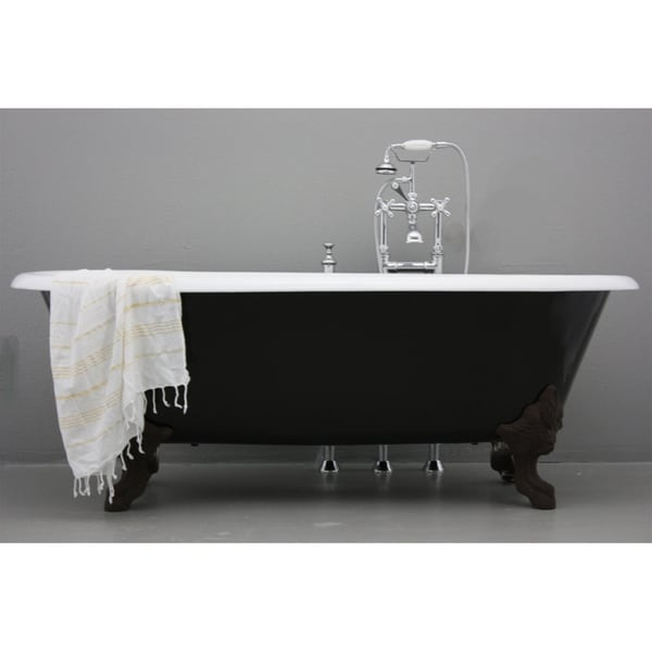 'The Cardigan' from Penhaglion 72-inch Cast Iron Double Ended Clawfoot Bathtub
