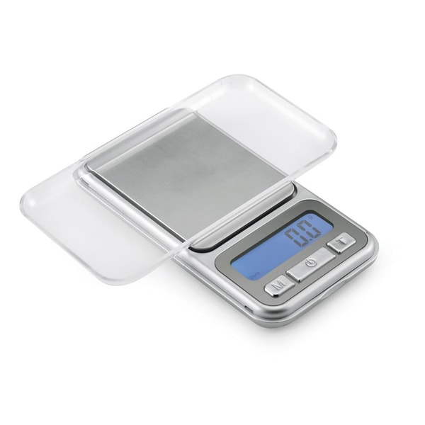 Polder Silver Digital Pocket Scale