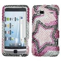 MYBAT Twin Stars Diamante Case for HTC G2 Vision