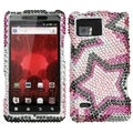 MYBAT Twin Stars Diamante Case for Motorola Droid Bionic XT875
