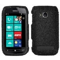 MYBAT Black Diamante Case for Nokia 710 Lumia