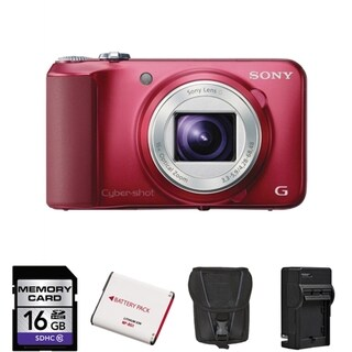 Sony Cyber-shot DSC-H90 16.1MP Digital Camera Bundle