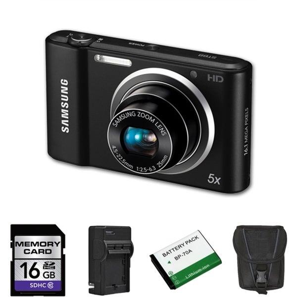 Samsung ST68 16MP Digital Camera Bundle