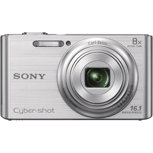 Sony Cyber-shot DSC-W730 16MP Silver Digital Camera