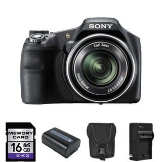 Sony Cyber-shot HX200V 18MP Digital Camera Bundle