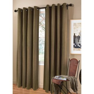 Livingston 84-inch Sage/ Natural Curatin Panel Pair